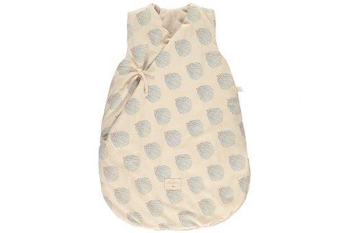 cloud winter sleeping bag saco dormir gigoteuse blue gatsby cream 0 6 nobodinoz 1 1