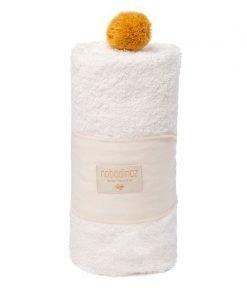 so cute baby bath cape natural blanco blanc nobodinoz 2000000107783