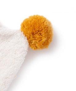 so cute baby bath cape white detail capa blanca cape blanc nobodinoz