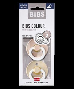 bibs fopspeen natuurrubber blister gid vanilla blush t2 1