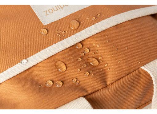 insulated lunch bag sunshine cinnamon nobodinoz sav gouter orange bio coton naturel isotherme mylittledream 2