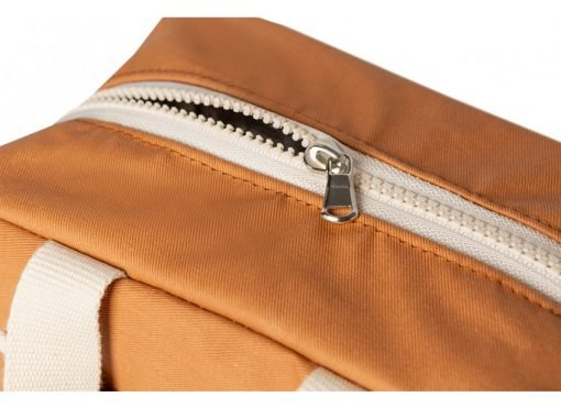 insulated lunch bag sunshine cinnamon nobodinoz sav gouter orange bio coton naturel isotherme mylittledream 3