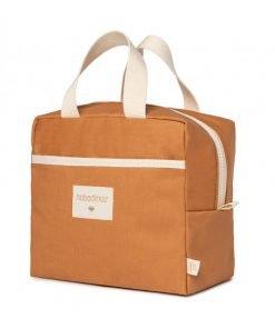 insulated lunch bag sunshine cinnamon nobodinoz sav gouter orange bio coton naturel isotherme mylittledream 6