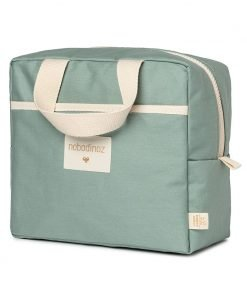 insulated lunch bag sunshine cinnamon nobodinoz sav gouter vert bio coton naturel isotherme mylittledream 6