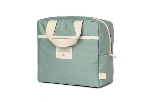 insulated lunch bag sunshine cinnamon nobodinoz sav gouter vert bio coton naturel isotherme mylittledream 6