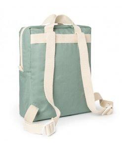 kid backpack sunshine eden green nobodinoz sac a dos sac enfant bebe coton bio 2