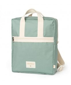 kid backpack sunshine eden green nobodinoz sac a dos sac enfant bebe coton bio