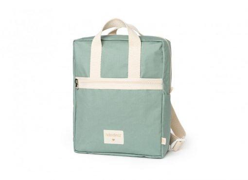 kid backpack sunshine eden green nobodinoz sac a dos sac enfant bebe coton bio